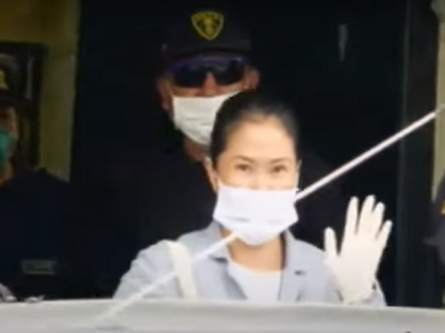 Keiko Fujimori salió de prisión tras revocarse su prisión preventiva
