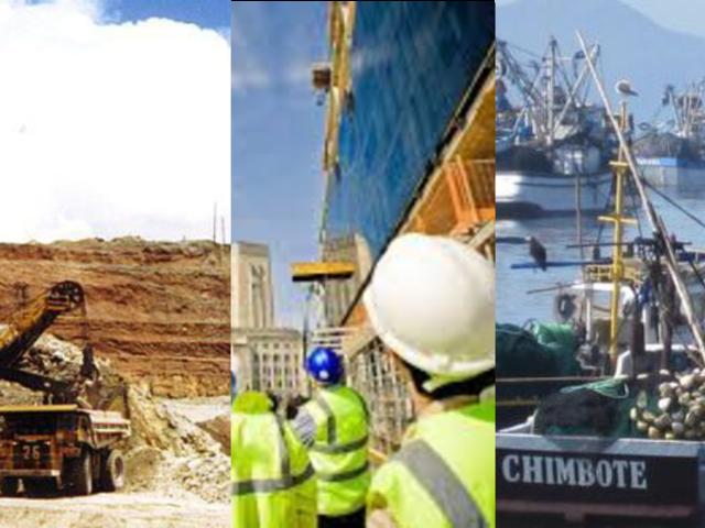 Trabajadores del sector construcción, pesquera y minera reanudarán labores