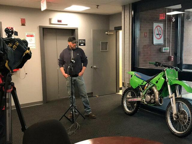 Estados Unidos: hombre recupera moto robada luego de casi 3 décadas