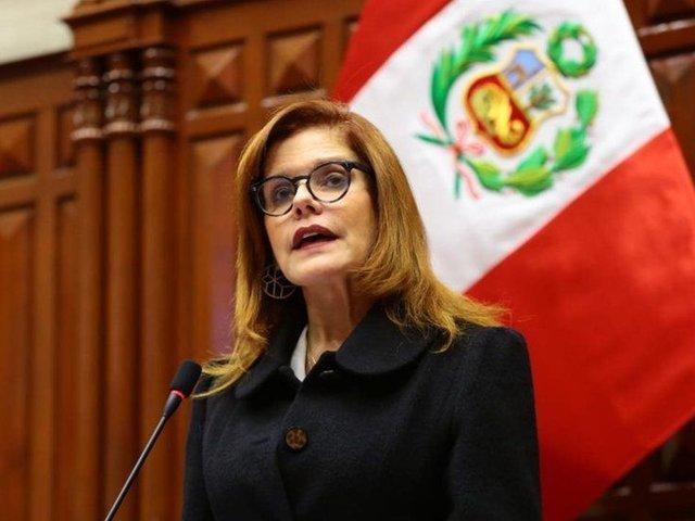 Congreso aceptó renuncia de Mercedes Araoz a la segunda vicepresidencia de la República