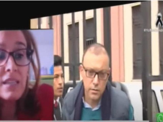 Esposa de Pier Figari pide su libertad por riesgo de contagio de Covid-19