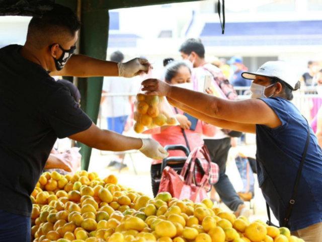 Covid-19: mercados que tienen más del 50% de comerciantes infectados están en Lima