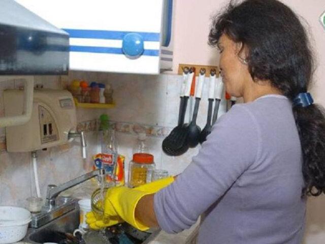 Trabajadoras del hogar tendrán contratos escritos y boletas de pago