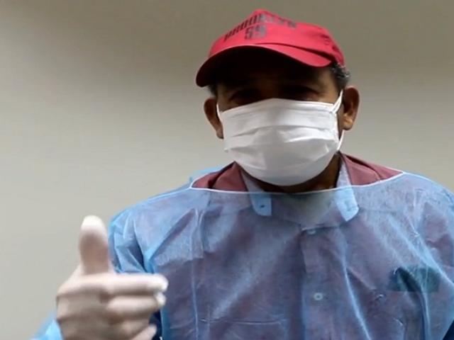 Héctor Chumpitaz y su esposa fueron dados de alta tras superar el coronavirus