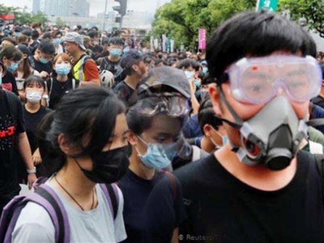 Vuelven las protestas de Hong Kong en plena pandemia