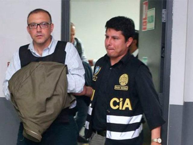 Pier Figari: Juez amplía prisión preventiva por 12 meses