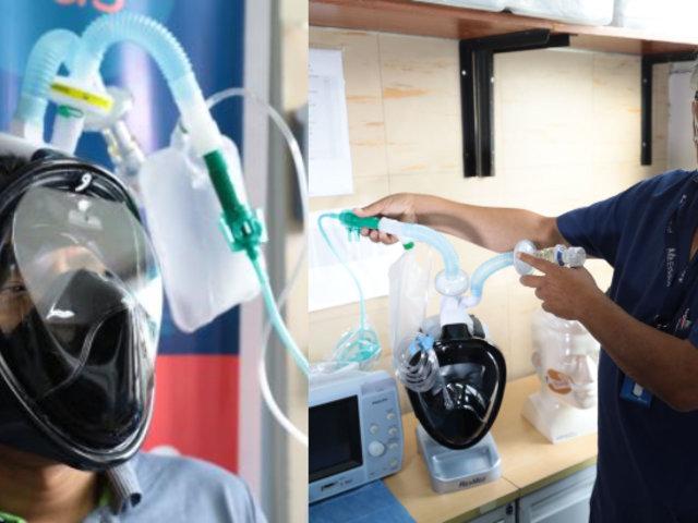 EsSalud: Implementan nuevo sistema de ventilación no invasiva para pacientes Covid-19