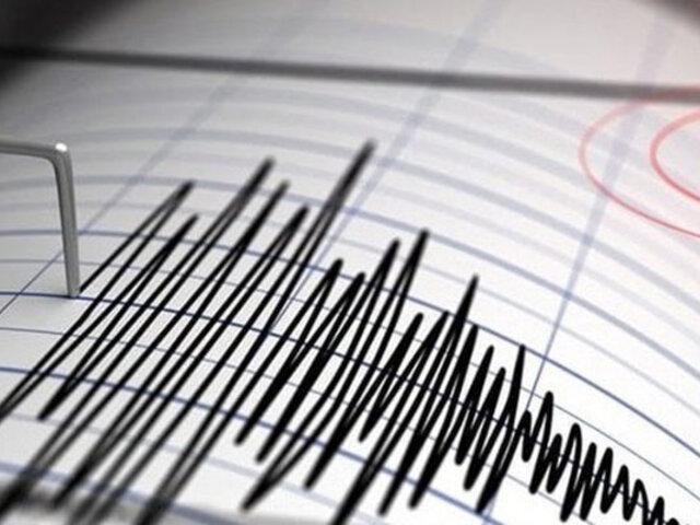 Sismo de magnitud 3.7 se sintió esta tarde en Arequipa