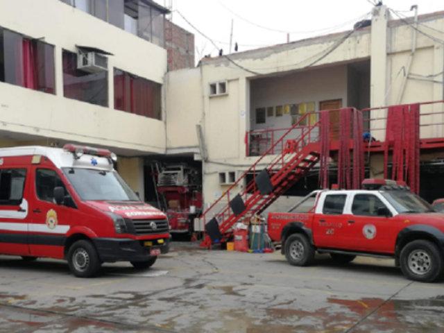 Covid-19 en La Libertad: cierran cuatro compañías de bomberos tras contagios