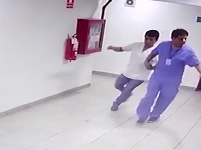 Jesús María: cámaras captan a médicos en estado de ebriedad