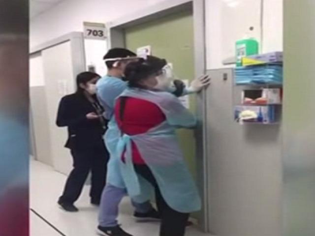 Chile: pacientes con COVID-19 escapan de hospital y agreden a autoridades