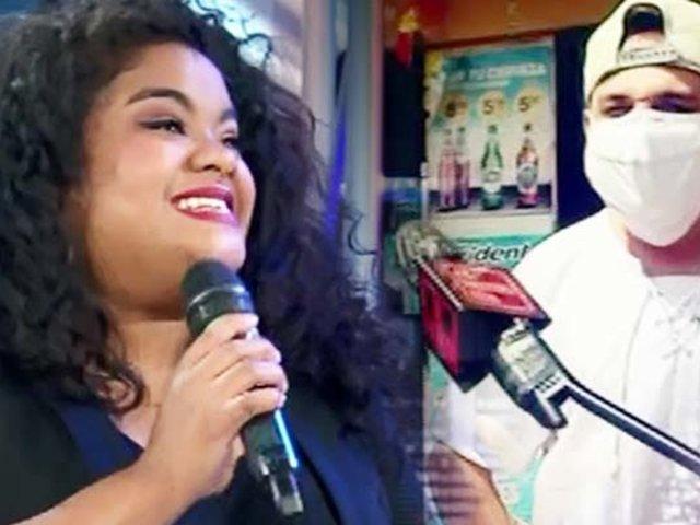 Cantante peruana sorprende a invidentes que trabajaban en las calles