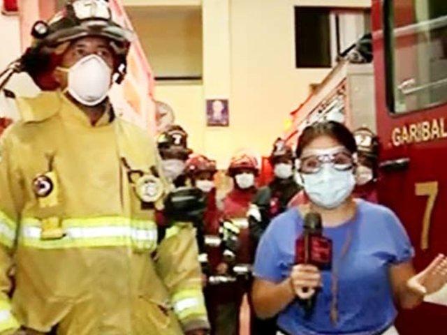 Así luchan los bomberos en tiempos del COVID-19