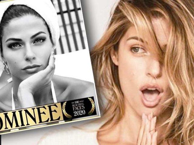 """Stephanie Cayo está nominada a """"Los 100 rostros más bellos del mundo"""""""