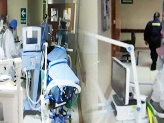 Hospital Dos de Mayo: ventiladores mecánicos e instalaciones UCI en el olvido en plena pandemia