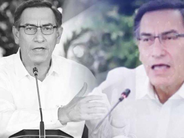 Disgusto y desgaste: el discurso del presidente Vizcarra