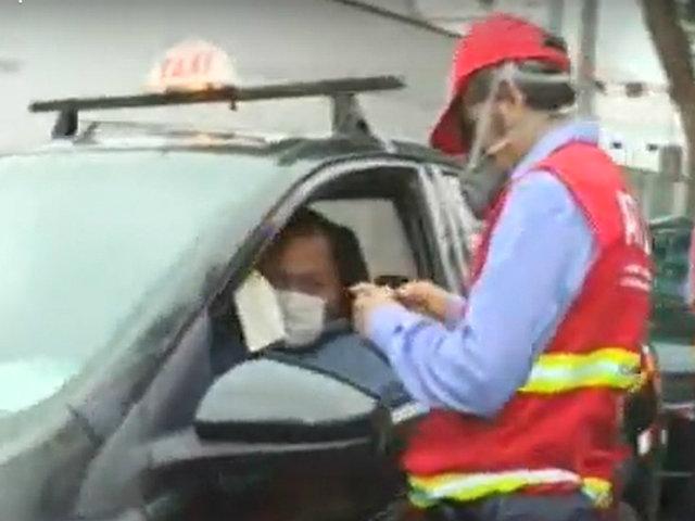 El Agustino: ATU realiza operativo contra mototaxis y buses de transporte público