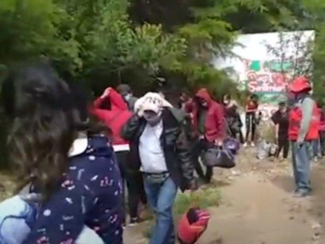 [VIDEO] Cajamarca: personas se camuflan en combi para trasladarse a la ciudad
