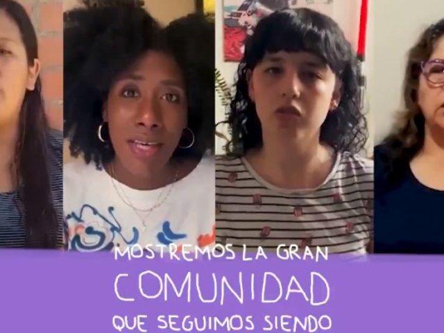 Artistas, periodistas, activistas, ciudadanos, entre otras entidades lanzan campaña para frenar la violencia a la mujer