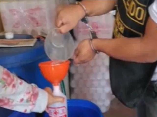 Intervienen laboratorios clandestinos donde adulteraban productos de limpieza