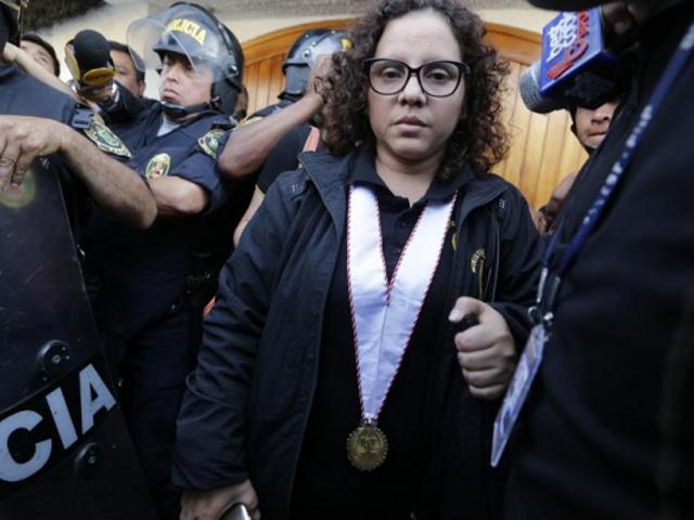 Caso Cuellos Blancos: Fiscal Castro solicitó documentos a Rocío Sánchez