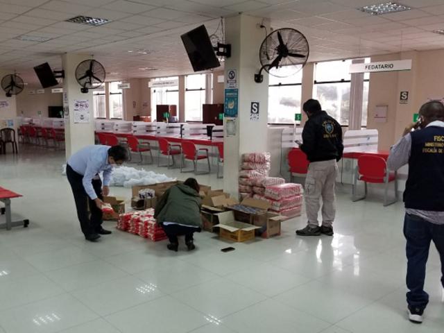 [VIDEO] Intervienen municipalidad de SJM por presuntas irregularidades en compra de víveres