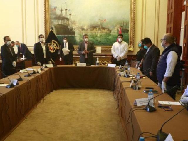 Mesa Directiva del Congreso convoca a Junta de Portavoces presencial para este miércoles