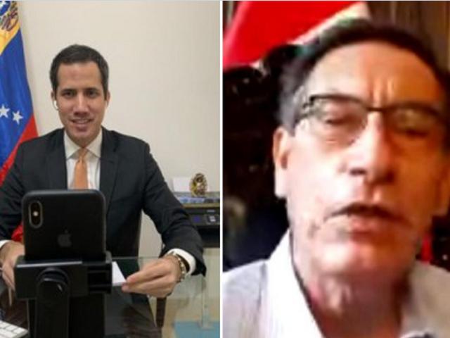 Presidente Vizcarra y Juan Guaidó sostuvieron reunión virtual sobre situación de venezolanos