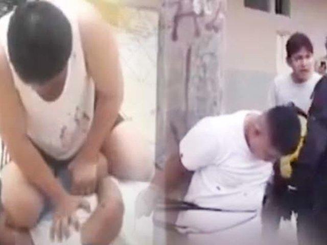 """Iquitos; vecinos logran la captura de un peligroso """"roba motos"""""""