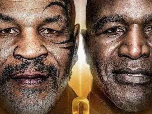 Tyson y Holyfield chocarán por tercera vez el 11 de julio en Arabia