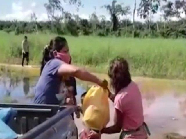 [VIDEO] Coronel en retiro de la PNP y ONG brindaron ayuda a familias vulnerables de Pucallpa