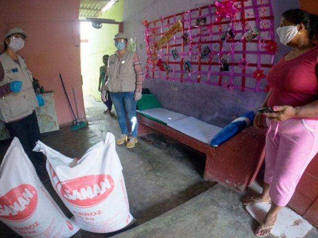 ONG Acción contra el Hambre donó más de 500 kilos de alimentos a comedores populares