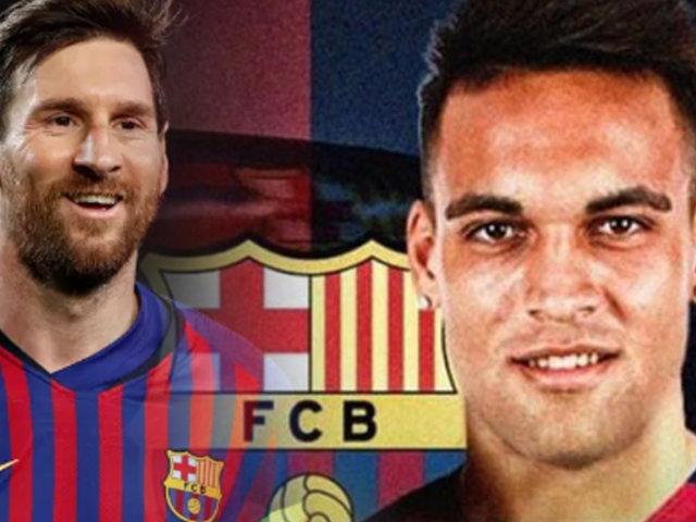 Lautaro Martínez está cada vez más cerca del FC Barcelona, según diario Olé