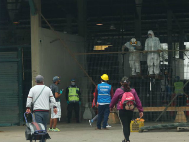 Mercado Mayorista de Santa Anita: ejecutan cierre focalizado tras casos de Covid-19