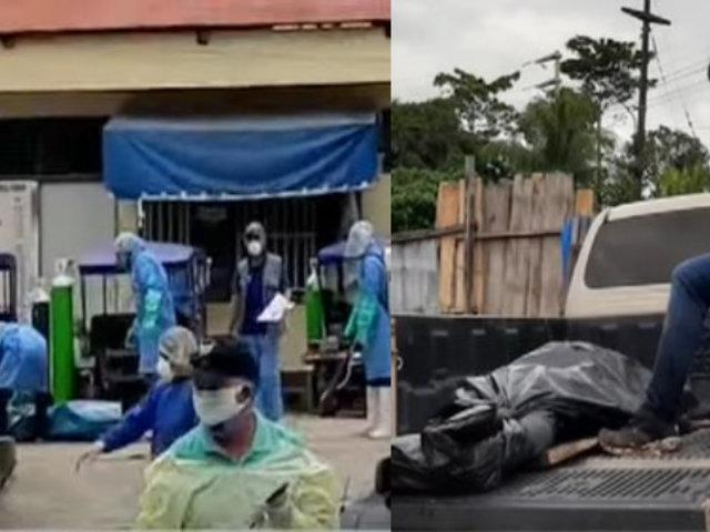 Pucallpa: Comando Covid-19 trabaja sin descanso recogiendo cuerpos