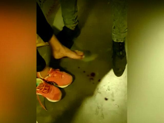 [VIDEO] Surco: montacargas aplasta pie de mujer en una tienda