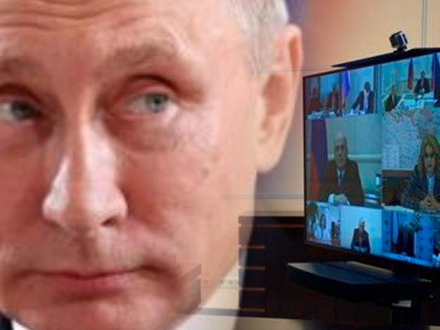 """Vladimir Putin: """"la pandemia empieza a ceder en Rusia"""""""