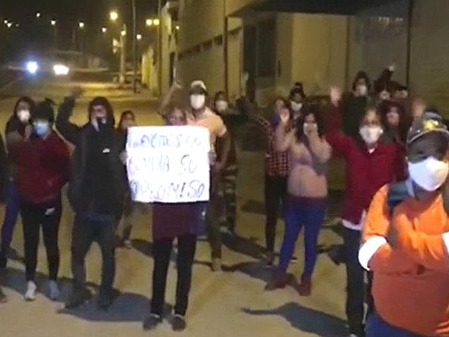 """Pobladores de Huarochirí protestan por cierre de posta médica: """"estamos desprotegidos"""""""