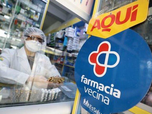 Más de 20 mil pacientes crónicos recibieron medicinas en farmacias cercanas a sus hogares