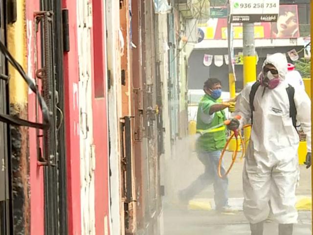 El Agustino: continúan los trabajos de desinfección y la toma de pruebas rápidas
