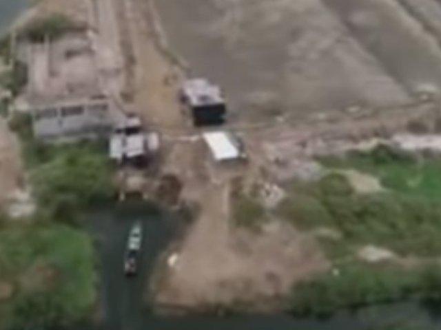 Tumbes: Policía usan drones para capturar a contrabandistas
