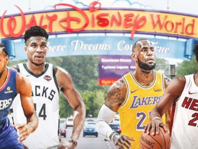EEUU: la NBA se mudaría a Disney para acabar la temporada