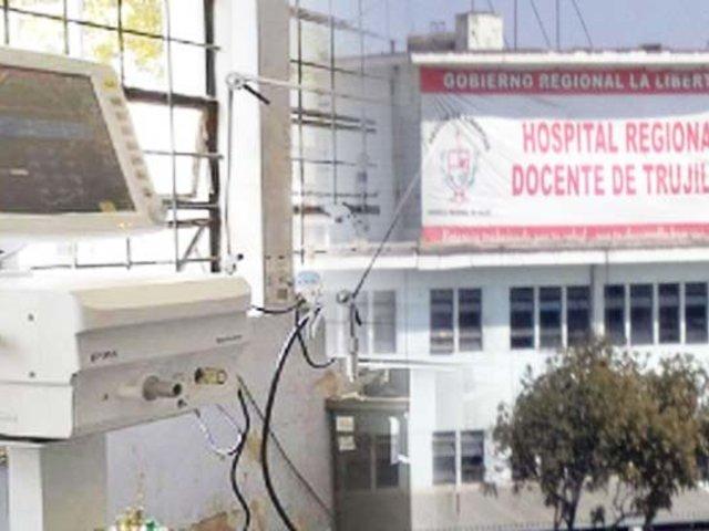 La Libertad: instalan cinco nuevos ventiladores mecánicos en hospital Regional