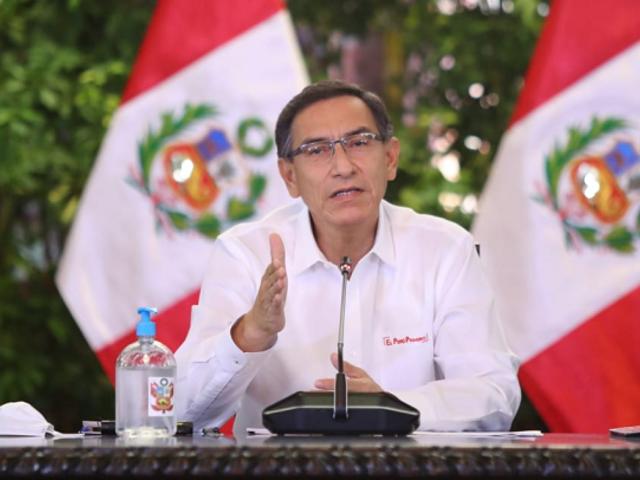 Presidente Vizcarra dará mensaje por COVID-19