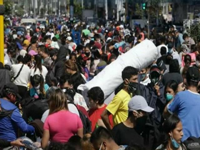Con tanquetas bloquean acceso a Gamarra ante desorden generado por ambulantes