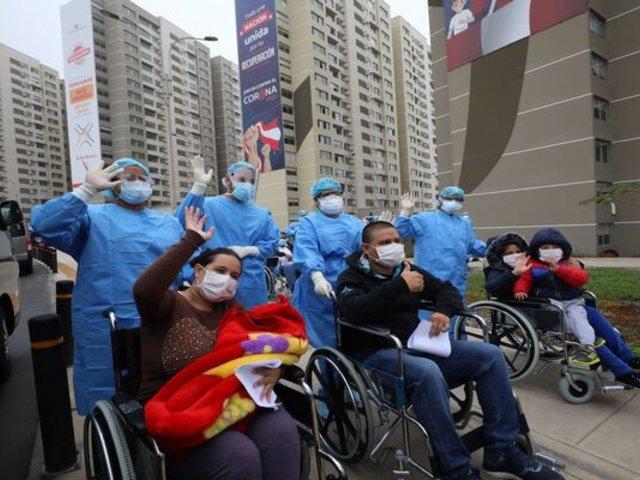 ¡Buenas noticias! Covid-19: Perú registra 1'824,406 pacientes recuperados
