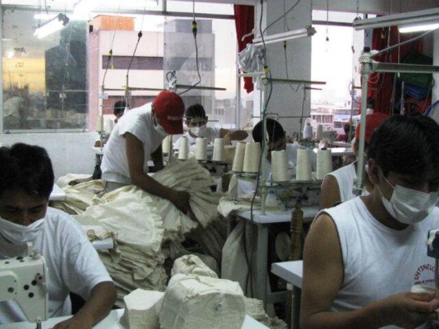 Gamarra: talleres textiles funcionarán a puertas cerradas en las próximas semanas