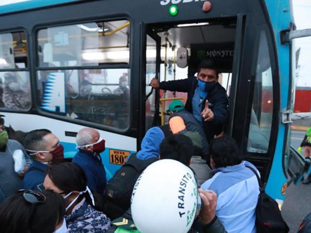 Gremio de transportistas anuncia paro desde este jueves 28 de mayo