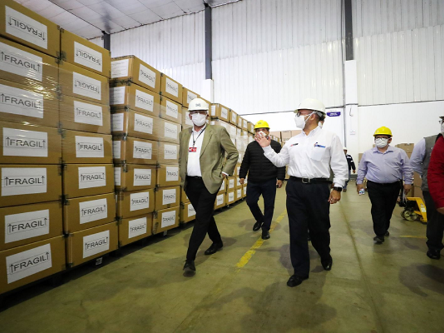 Empresas mineras donan medio millón de pruebas rápidas para descartar COVID-19