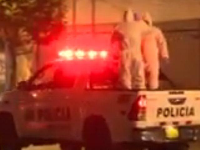 Conserje es encontrado muerto en el interior de un hotel de  Lince